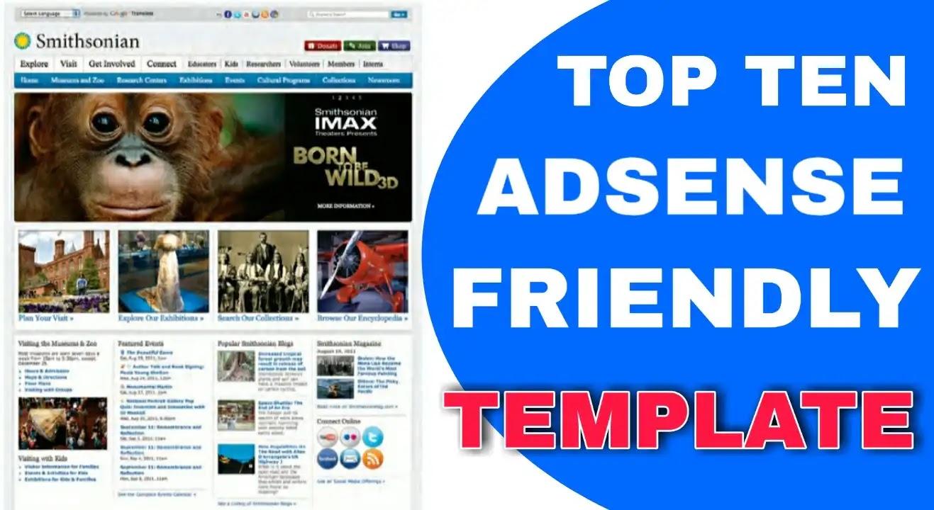 Top 10 Adsense Friendly Blogger Template Free 2020 - SEO Blogger Template For Beginner