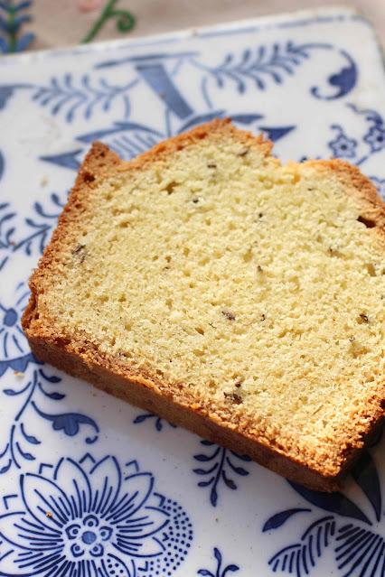 quatre-quart beurre graines