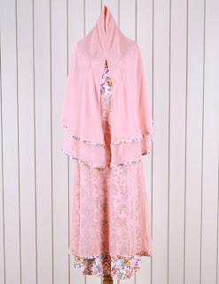 Jual Online Ravena Maxy Syar'i Orange Model Fashion Korea Terbaru diJakarta
