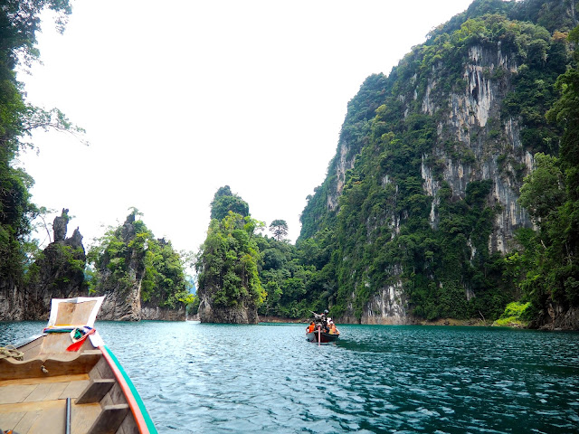 Cheow Lan Lake, Khao Sok National Park, Thailand