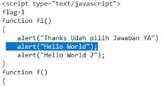 Cara Buat Pesan Pop-up HTML Sederhana