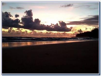Sunset di Pantai Drini