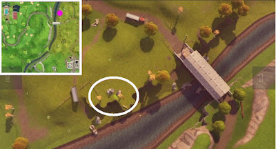 Fortnite, Skeet Shooting Location, Clay Pigeon Location, Lazy Links, Map