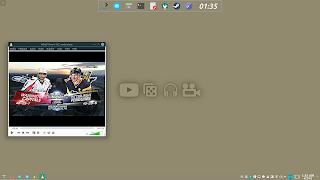 KDE Plasma Flat Activities Wallpaper 6 Play