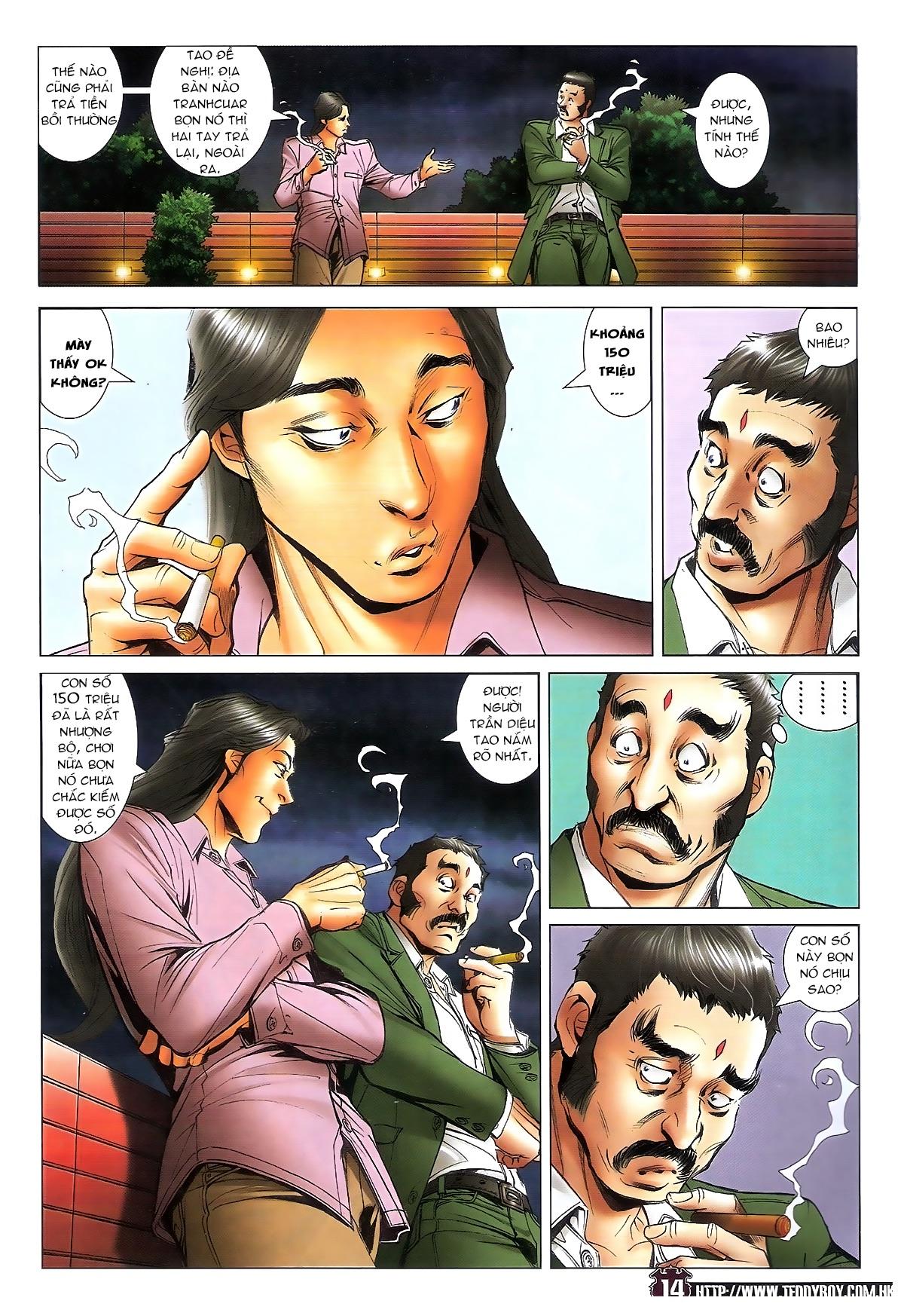 Người Trong Giang Hồ chapter 1713: yêu nghiệt trang 14