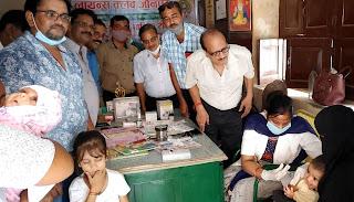 बच्चों के जीवन की सुरक्षा के लिये टीकाकरण सबसे प्रभावी तरीकाः डा. वर्मा  | #NayaSaberaNetwork