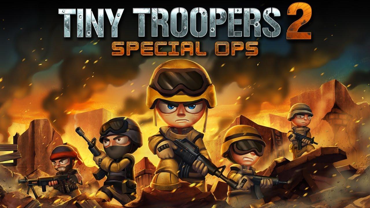 اللعبه الحربيه الممتعه : Tiny Troopers 2: Speical OPSv1.3.7 مهكره جاهزه
