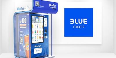 Cara Mendapatkan Voucher Gratis Bluemart