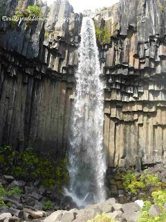 La cascata di Svartifoss