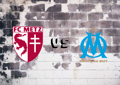 Metz vs Olympique Marseille  Resumen