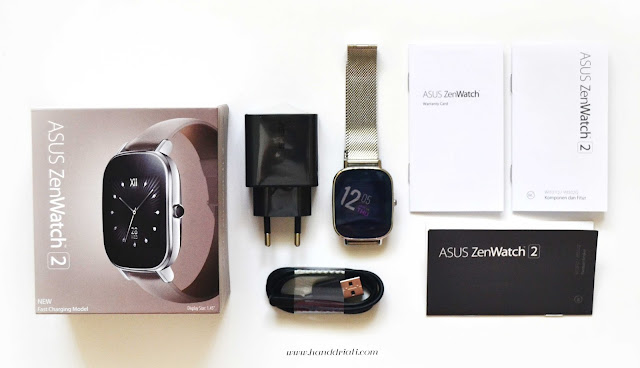uboxing asus zenwatch 2 wi502q