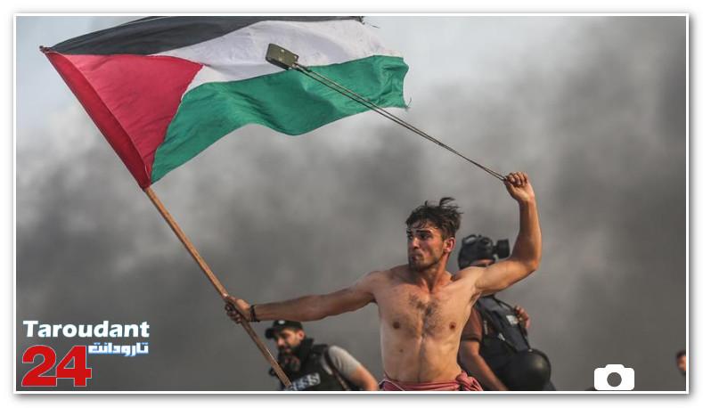 """صورة """"الأناضول"""" تتحول إلى """"أيقونة"""" المقاومة الشعبية الفلسطينية (تقرير)"""