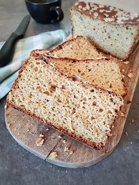 pain protéiné quinoa et oeufs (sans gluten)