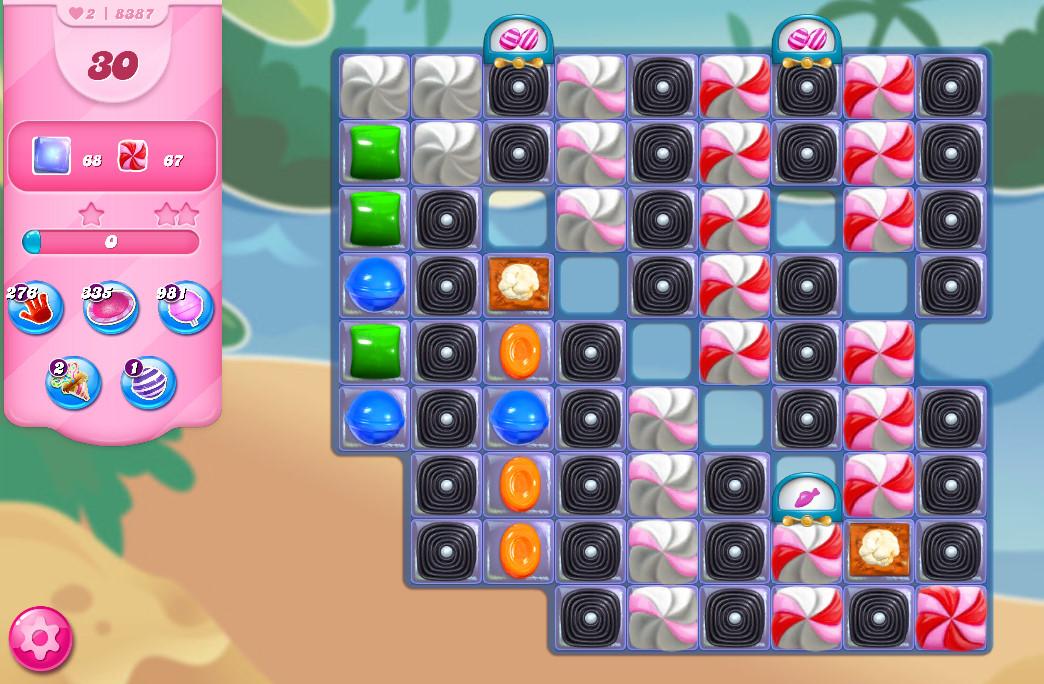 Candy Crush Saga level 8387