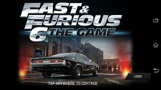 Download Fast & Furious 6 v1.4.2 Apk+Data