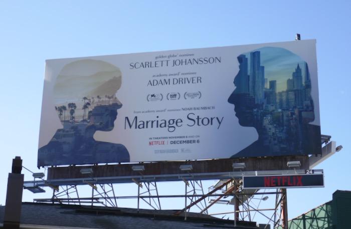 Marriage Story Netflix film billboard