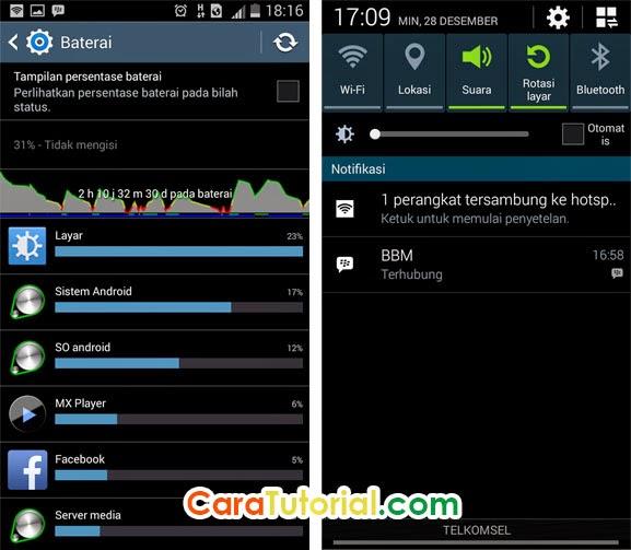 Cara Supaya Baterai Android Tidak Cepat Habis (Boros)