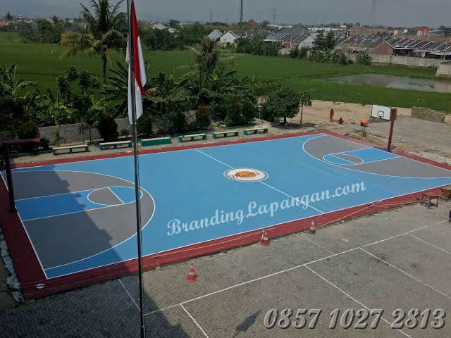 Cat Lapangan Basket, Cat Lapangan Volly