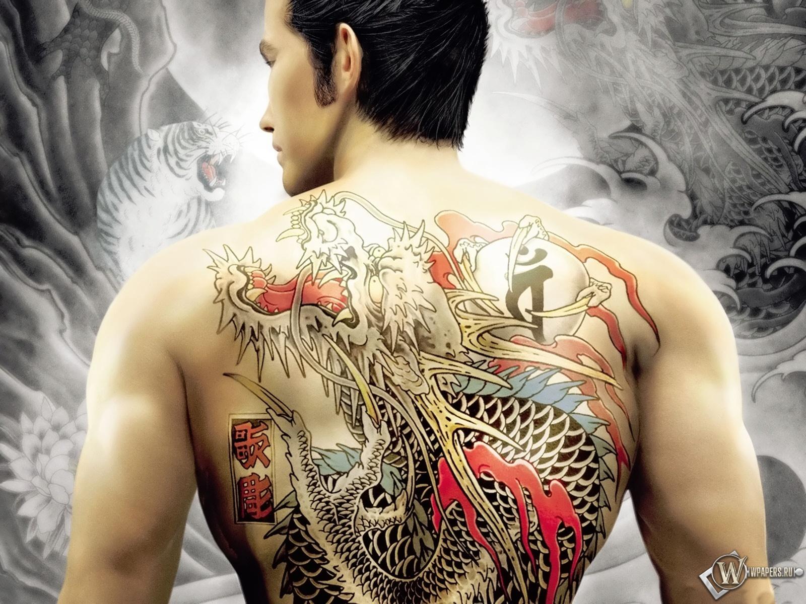 Kiryu Kazuma Tattoo: Dragon Tattoos