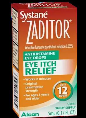 Eye Allergies, Drops for eye allergies, allergies