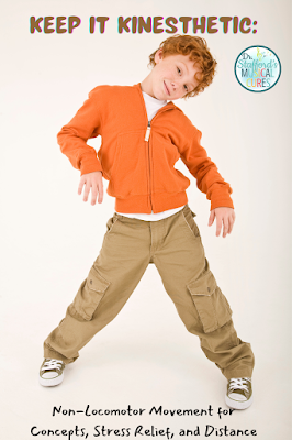 Keep It Kinesthetic: Non-Locomotor Moves for Concepts, Distance, and Stress Relief