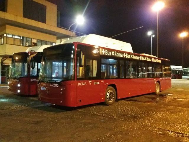 Atac - Arrivano i primi bus nuovi a metano