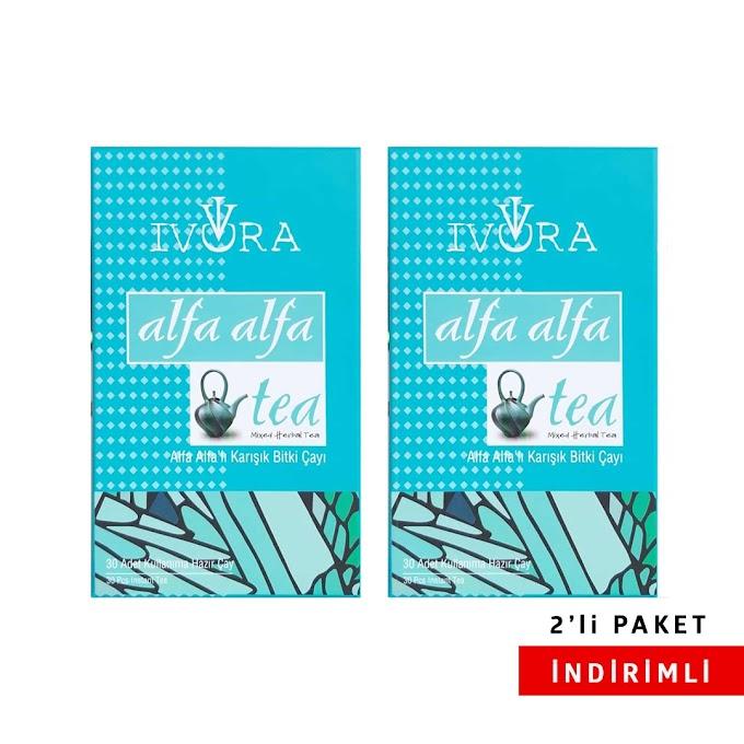 İvora Alfa Alfa Çay 2'li Paket