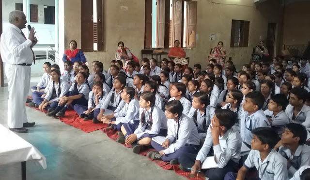 School children are aware of road safety; Dr. MP Singh