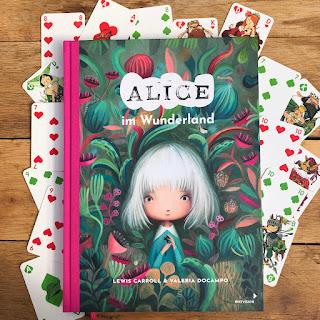Alice im Wunderland - Eine zauberhafte Schmuckausgabe von Valeria Docampo