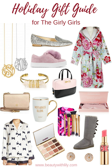 Ultimate Gift Guide for Girly Girls | beautywithlily.com