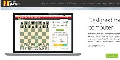لعبة شطرنج Red Hot Pawn