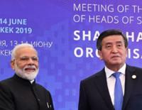 PM Modi Meets Kyrgyz President Jeenbekov