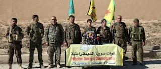 دمشق ترحب بسحب القوات السورية الديمقراطية