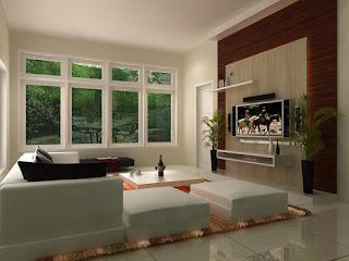 Pada sebuah rumah tentunya mempunyai beberapa ruangan Desain Ruang Keluarga