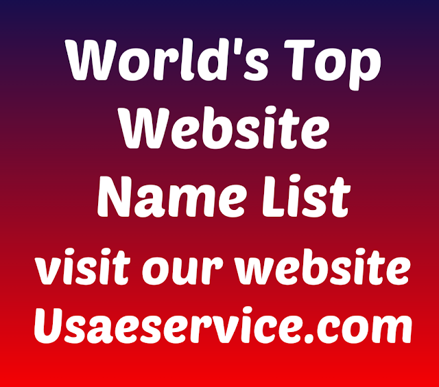 World's Top Most Popular Website Name