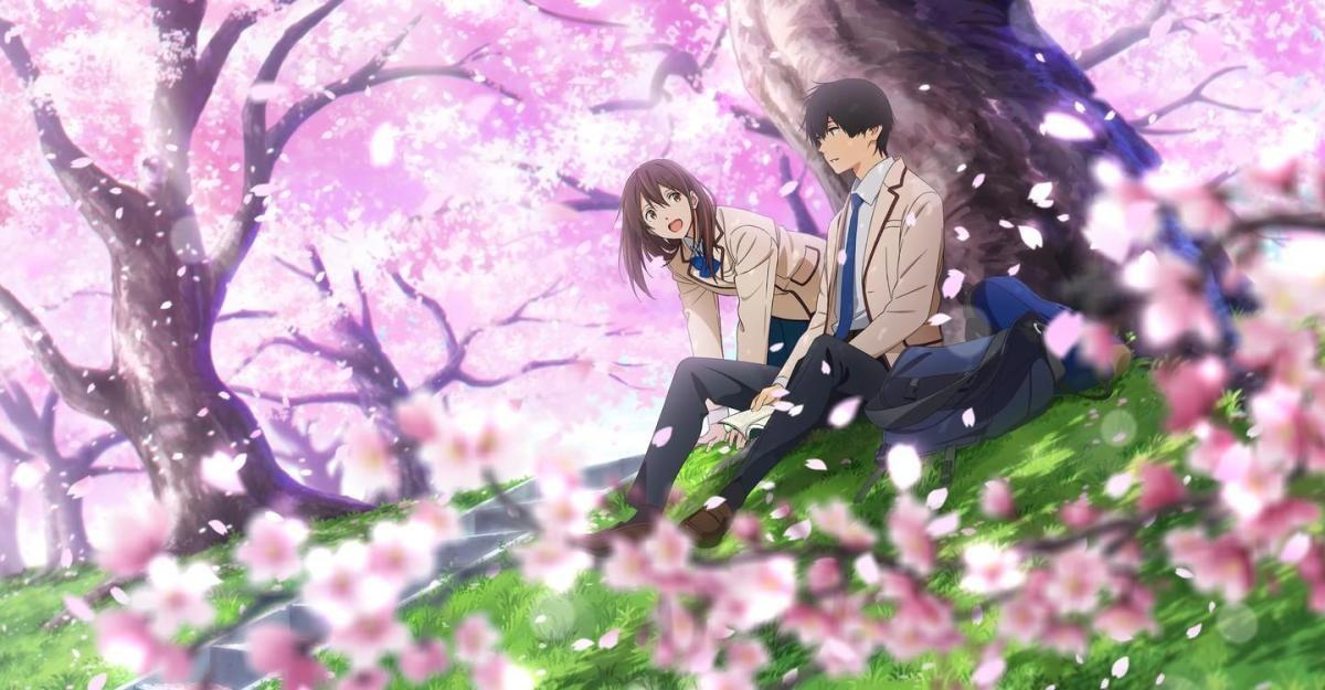 anime romance wallpaper anime