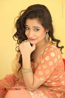 Telugu Actress Santoshi Sharma Latest Stills in Salwar Kameez at HBD Movie Teaser Launch  0106.JPG