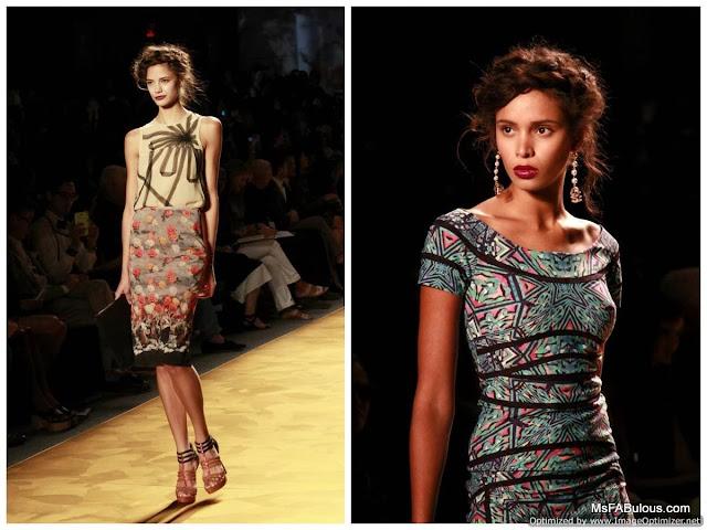 nicole miller fashion show