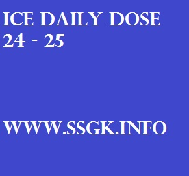 ICE DAILY DOSE 24 - 25