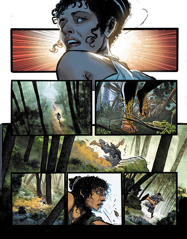 WONDER WOMAN HISTORIA: THE AMAZONS - 1
