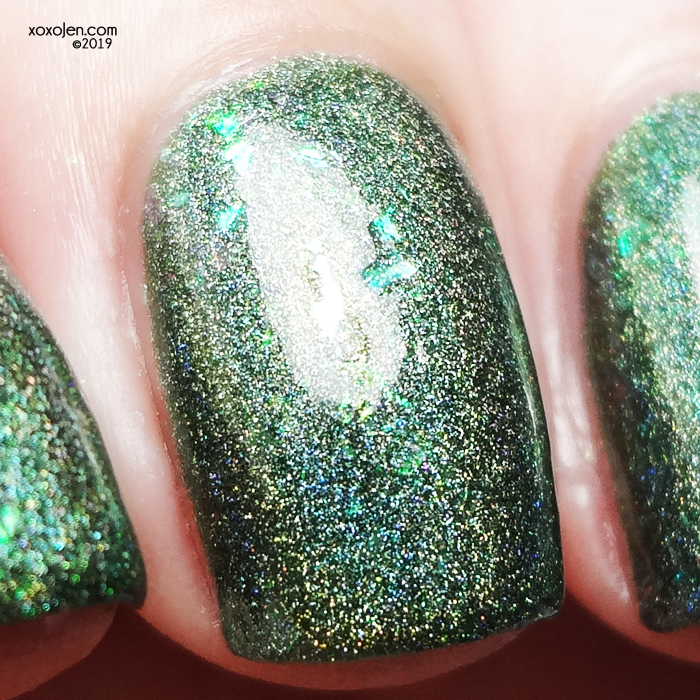 xoxoJen's swatch of KBShimmer Fo Shizzle
