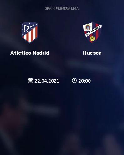 بث مباشر مباراة اتلتيكو مدريد وهويسكا