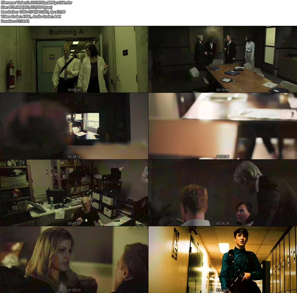 Violentia 2019 720p BRRip x264   480p 300MB   100MB HEVC Screenshot