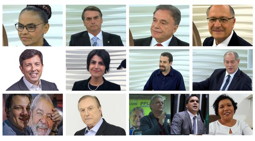 Outro Olhar Conheça os candidatos à Presidência República nas eleições 2018