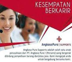 Perekrutan Karyawan outsourcing PT Angkasa Pura Suport