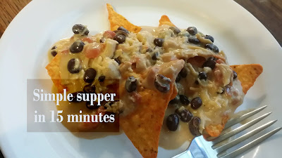 dorito rotel chicken cheese nachos quick easy delicious meal in a hurry