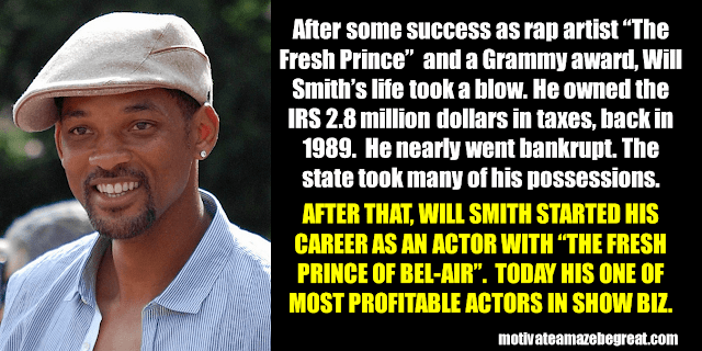 Success Stories From Famous People Who Failed Before Succeeding: Will Smith