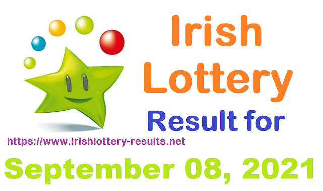 Irish lottery results for September 08, 2021
