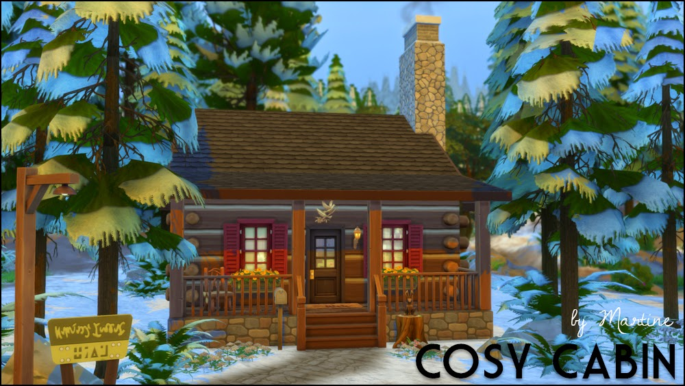 My Sims 4 Blog Updated Cosy Cabin And Custom Content By