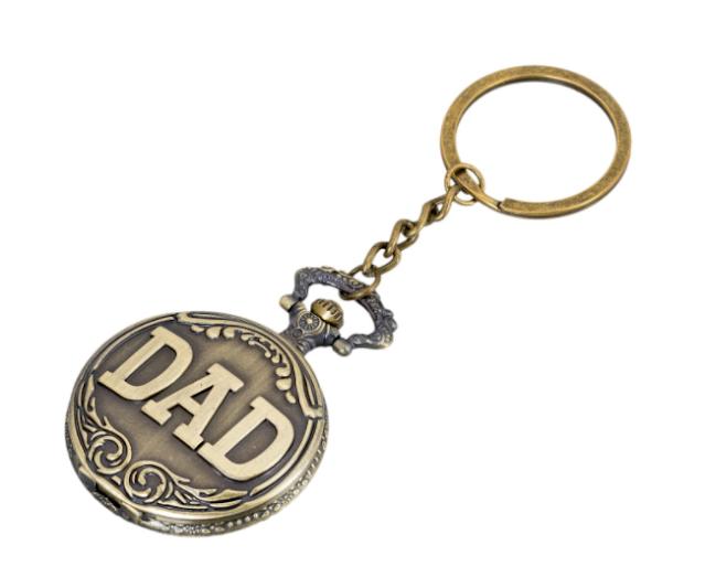 Pocket watch keychains
